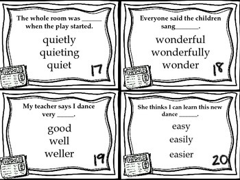 Journeys Now and Ben Vocabulary, Grammar, and Phonics Task Cards