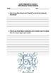 "Journey's ""Off & Running"" Comprehension & Vocabulary Worksheet"
