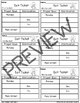 Journeys-Officer Buckle and Gloria Exit Tickets