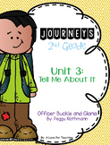 Journeys Officer Buckle and Gloria Grade 2 {Editable}