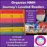 Journey's Lessons: Organization 1st Grade Dividers for Lev