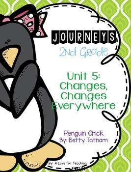 Journeys Penguin Chick Grade 2 {Editable}
