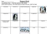 Journeys Penguin Chick Vocabulary Hunt