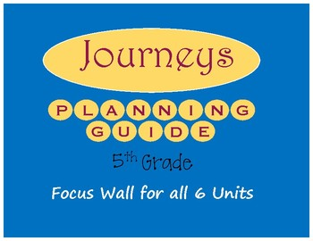 Journeys Planning Guide 5th Grade