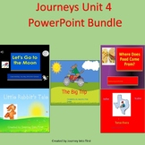 Journeys Unit 4  Reading PowerPoint Bundle Distance Learning