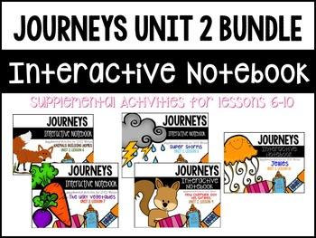 Journeys Print & Go with Interactive Pages Unit 2 BUNDLE