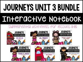 Journeys Print & Go Units with Interactive Pages Unit 3 BUNDLE