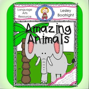 Journeys  1st GradeAmazing Animals