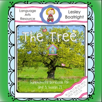 Journeys First Grade Print-and-Go Supplement: The Tree /Th