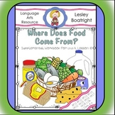 Journeys  1st Grade Where Does Food Come From?
