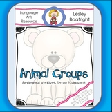 Journeys   1st Grade Animal Groups