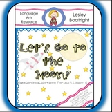 Journeys  1st Grade Let's Go to the Moon