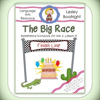 Journeys 1st Grade The Big Race