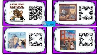 Journeys QR Codes For Weekly Texts- Third Grade
