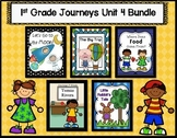 Journeys First Grade Unit 4 Bundle