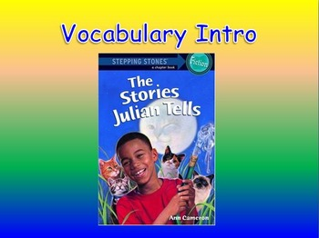 """Journeys 2nd Lesson 22 Vocab Intro PPT for """"Gloria Who Might Be My Best Friend"""""""