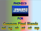 "Journeys 2nd Lesson 06 Jeopardy Phonics PPT for ""Animals Building Homes"""