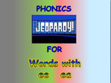 "Journeys 2nd Lesson 13 Jeopardy Phonics PPT for ""Schools Around the World"""