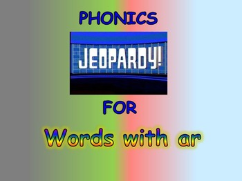 "Journeys 2nd Lesson 19 Jeopardy Phonics PPT for ""The Signmaker's Assistant"""
