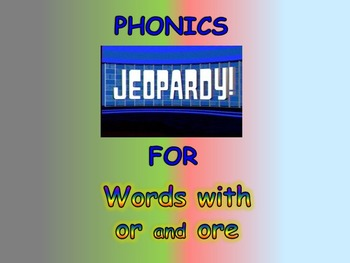 "Journeys 2nd Lesson 20 Jeopardy Phonics PPT for ""Dex: The Heart of a Hero"""