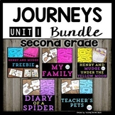 Journeys Series Second Grade | Bundle | Henry and Mudge | Diary of a Spider