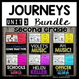 Journeys Second Grade | Unit 3 | Bundle | Click Clack Moo Cows That Type