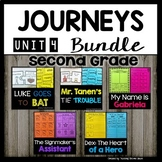 Journeys 2nd Grade | Bundle | Unit 4 | Mr. Tanen's Tie Trouble
