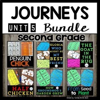 Journeys Second Grade Unit 5 Bundle