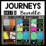 Journeys Second Grade Activities | Bundle | Unit 5 | Penguin Chick