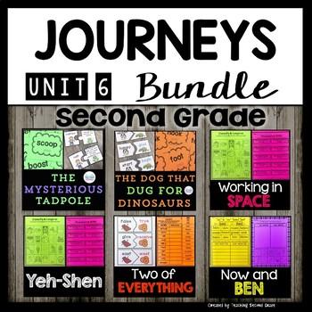 Second Grade Journeys | Bundle | Unit 6 | The Mysterious Tadpole