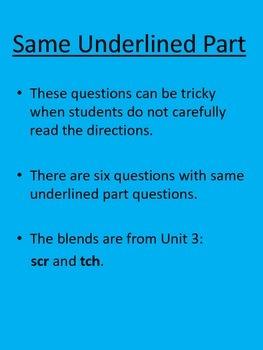 Journeys Reading Grade 2 (Unit 3) Benchmark Prep