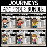 Journeys Second Grade Spelling | ABC Order Bundle of all 3