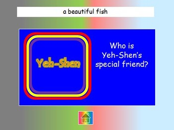"Journeys 2nd Lesson 28 Jeopardy Review PPT for ""Yeh-Shen"""