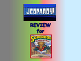 "Journeys 2nd Lesson 20 Jeopardy Review for ""Dex: The Heart of a Hero"""