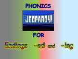 "Journeys 2nd Lesson 16 Jeopardy Phonics PPT for ""Mr. Tanen's Tie Trouble"""