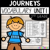 Journeys Vocabulary 2nd Grade Unit 1