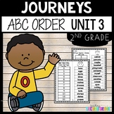Journeys Second Grade Unit 3 ~ ABC Order Cut and Paste
