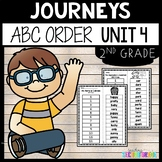 Journeys Second Grade Unit 4 ~ ABC Order Cut and Paste