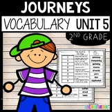 Journeys Vocabulary Unit 5