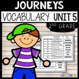 Journeys Vocabulary Unit 5