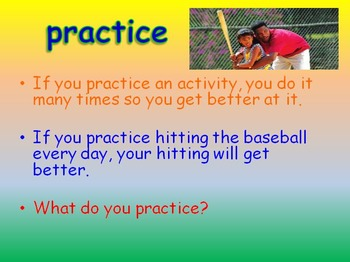 """Journeys 2nd Lesson 17 Vocab Intro PPT for """"Luke Goes to Bat"""""""