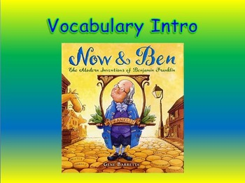 "Journeys 2nd Lesson 30 Vocab Intro PPT for ""Now & Ben"""