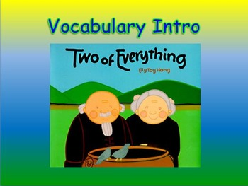 "Journeys 2nd Lesson 29 Vocab Intro PPT for ""Two of Everything"""
