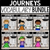 Journeys Second Grade Vocabulary Bundle