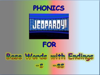 """Journeys 2nd Lesson 11 Jeopardy Phonics PPT for """"Click, Clack, Moo: Cows That"""""""