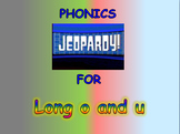 "Journeys 2nd Lesson 04 Jeopardy Phonics PPT for ""Diary of a Spider"""