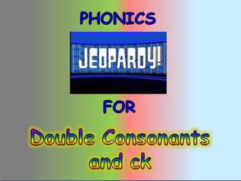 "Journeys 2nd Lesson 07 Jeopardy Phonics PPT for ""The Ugly Vegetables"""