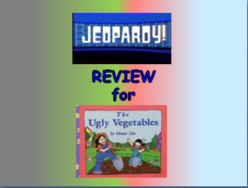 """Journeys 2nd Lesson 07 Jeopardy Review PPT for """"The Ugly V"""