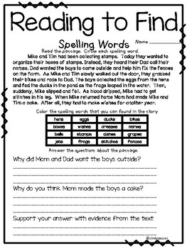 Journeys Reading Series, 2nd Grade, Unit 3, Week 1, Fun Centers and Printables