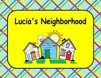 Journeys Reading Series Lucia's Neighborhood Focus Wall SmartBoard